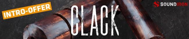 Banner Soundiron - Clack 3.0 - Intro Offer