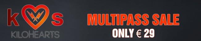Banner KiloHearts - Multipass Sale