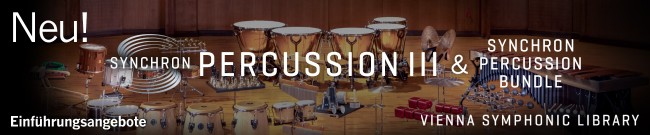 Banner VSL: Synchron Percussion III - Introductory Offers
