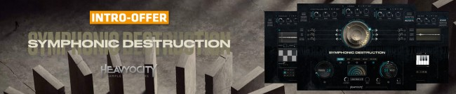 Banner Heavyocity - Symphonic Destruction - Intro