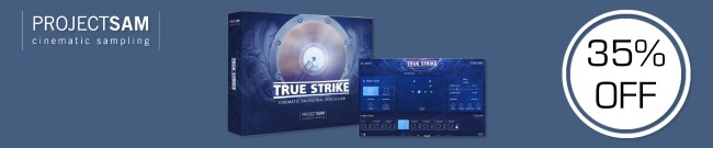 Banner Project SAM True Strike Sale: 35% OFF