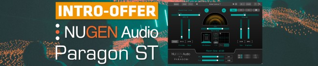 Banner Nugen Audio - Paragon ST - Intro Offer