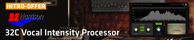 Banner Harrison Consoles - 32C Vocal Intensity Processor Intro Offer