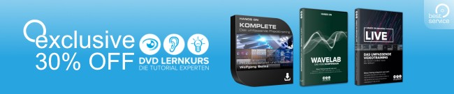 Banner DVD-Lernkurs - 30% OFF selected courses