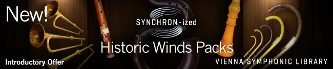 New: SYNCHRON-ized Historic Winds Packs