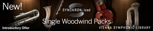 SYNCHRON-ized Woodwinds Single Packs