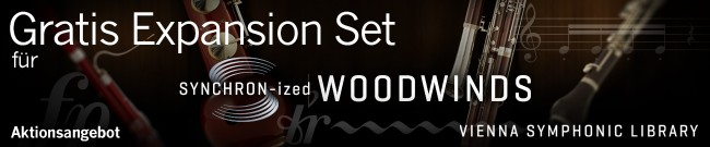 Free Expansion Set for SYNCHRON-ized Woodwinds