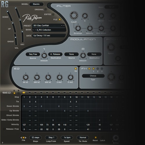 RG - The Rhythm-Guitar-Synthesizer