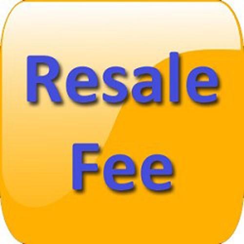 Resale Registration Fee