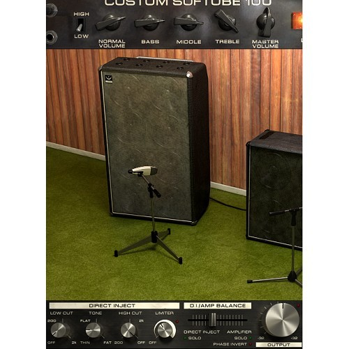 Bass Amp Room