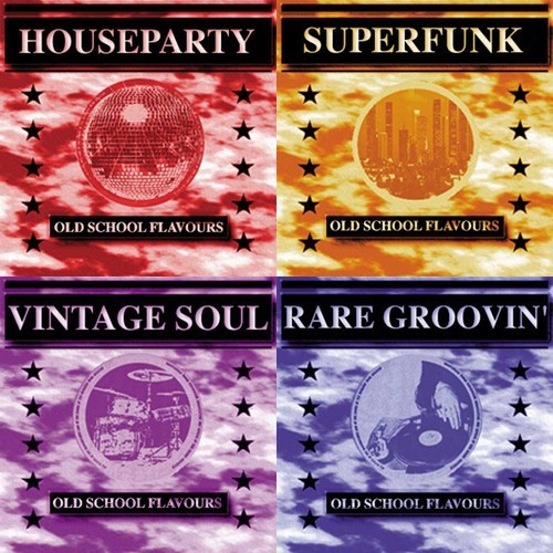 Old School Flavours Vol. 1-4