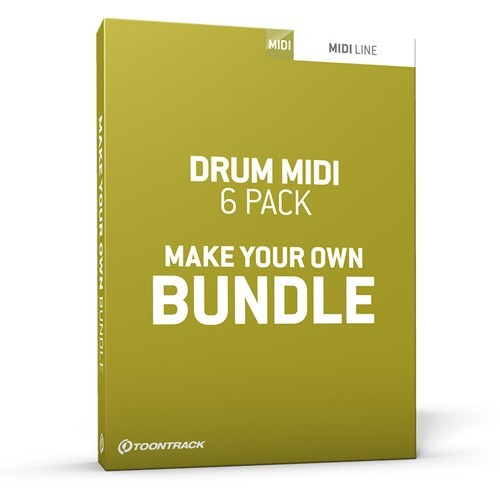 Drum MIDI 6 Pack Bundle Generic
