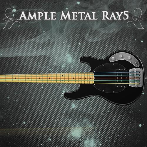 Ample Bass Metal Ray5 - AMR