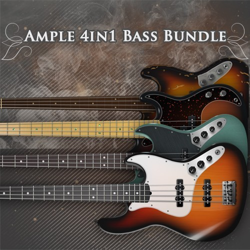 Ample 4in1 Electric Bass Bundle