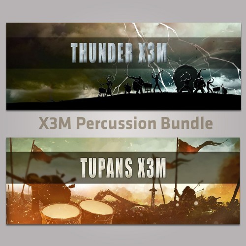 X3M Percussion Bundle