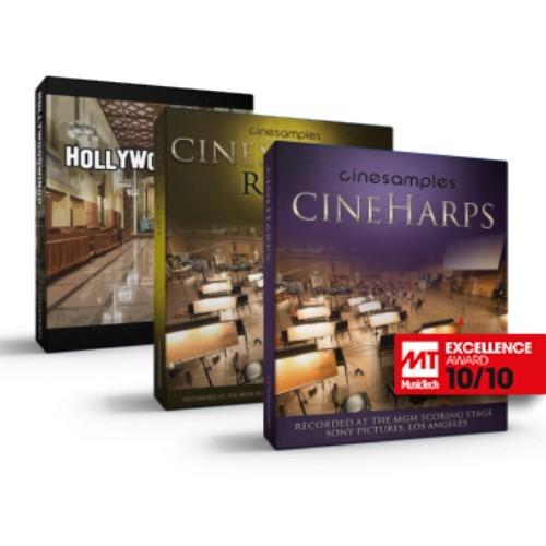 CineStrings RUNS + Hollywoodwinds + CineHarps Bundle