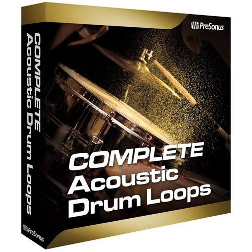 Complete Acoustic Drum Loops