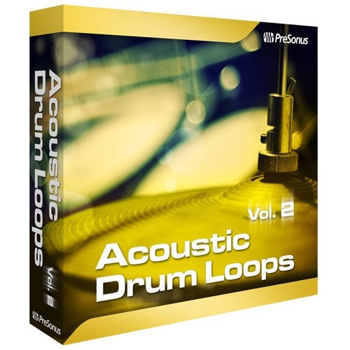 Acoustic Drum Loops Vol. 2 - Stereo