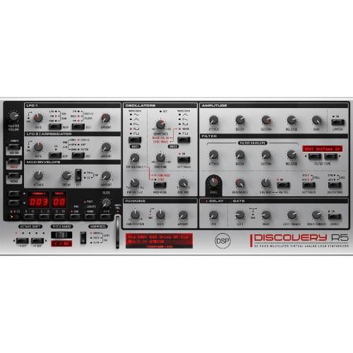 Discovery Virtual Analog Synthesizer