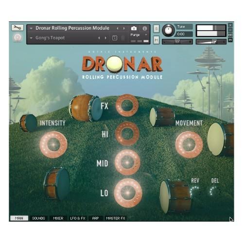Dronar Rolling Percussion