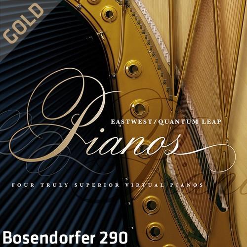 QL Pianos Gold Bosendorfer 290