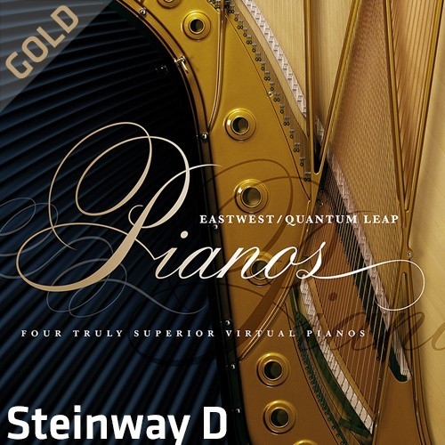 QL Pianos Gold Steinway D