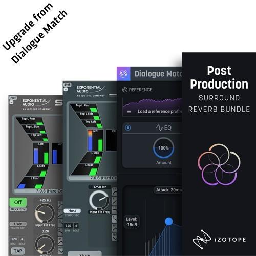 Post Production Surround Reverb Bundle Upgrade