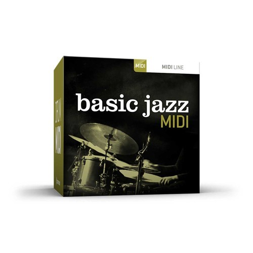Drum MIDI Basic Jazz