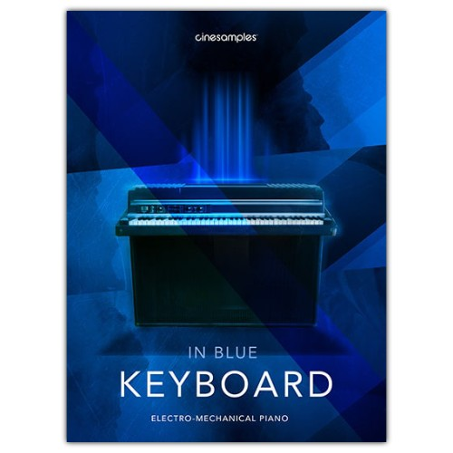 Keyboard in Blue