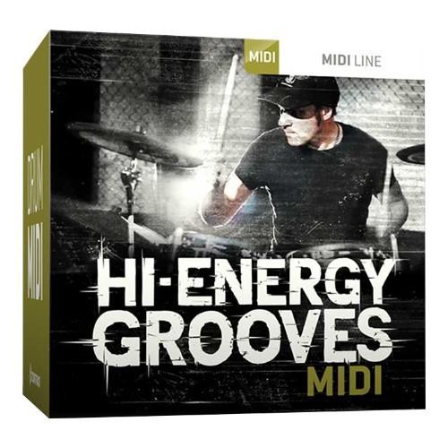 Drum MIDI High Energy Grooves