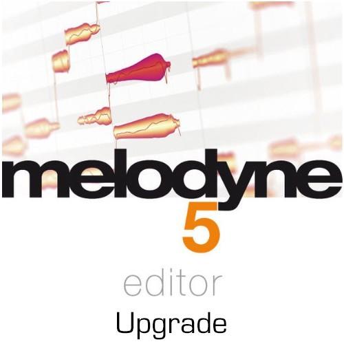 Melodyne 5 Editor Upgrade