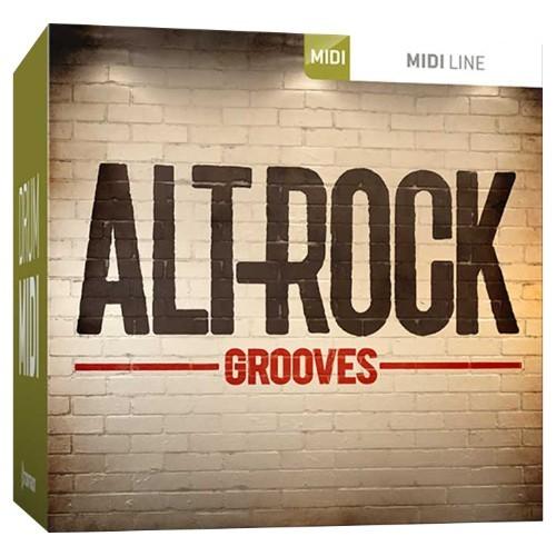 Drum MIDI Alt-Rock Grooves