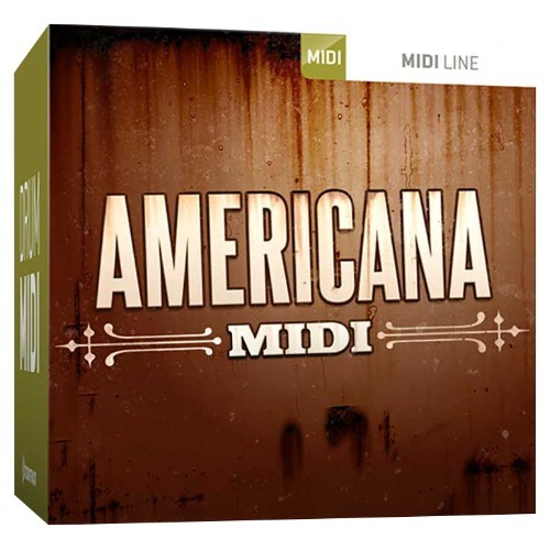 Drum MIDI Americana