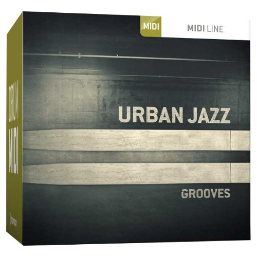 Drum MIDI Urban Jazz Grooves