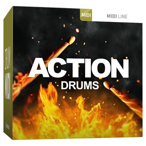 Drum MIDI Action Drums