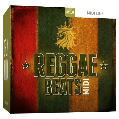 Drum MIDI Reggae Beats