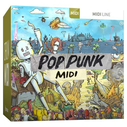 Drum MIDI Pop Punk