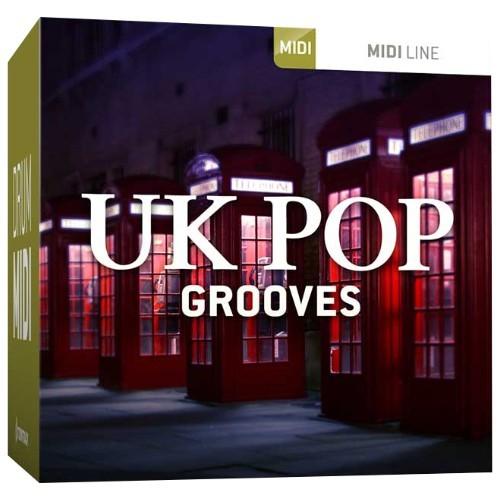 Drum MIDI UK Pop Grooves
