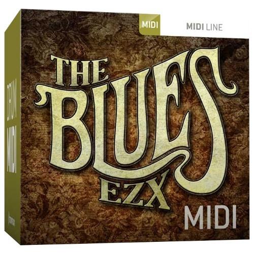 Drum MIDI The Blues EZX
