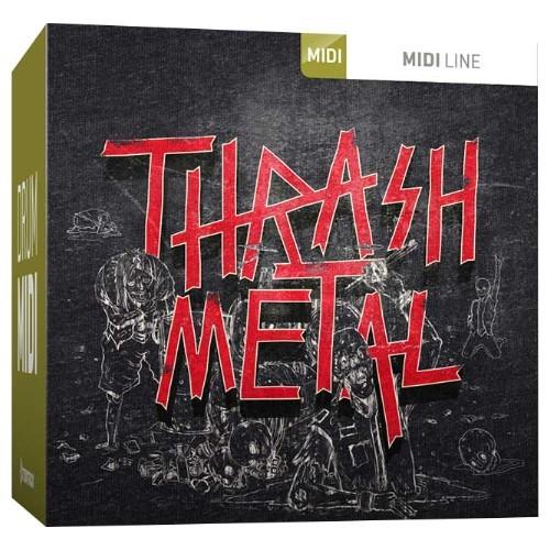 Drum MIDI Thrash Metal