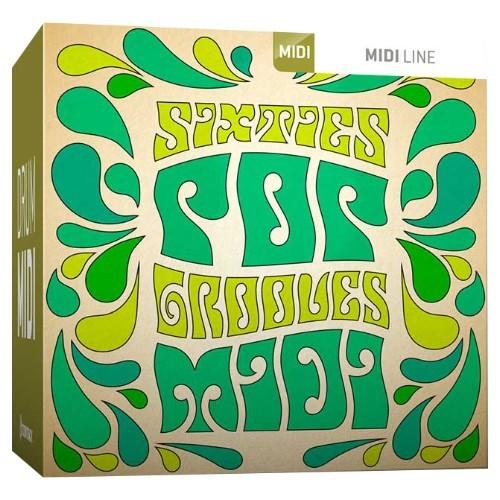 Drum MIDI Sixties Pop Grooves