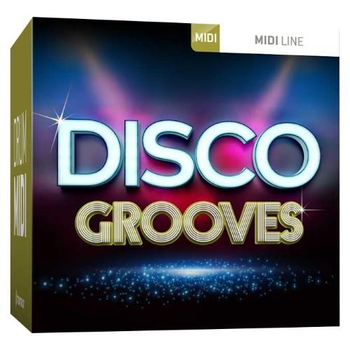 Drum MIDI Disco Grooves