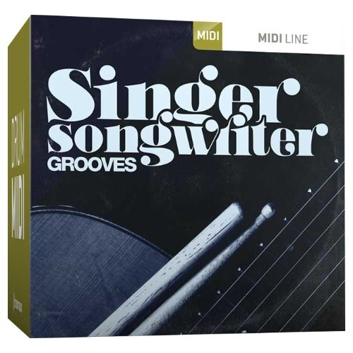 Drum MIDI Singer-Songwriter Grooves
