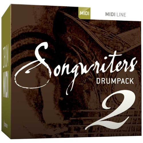 Drum MIDI Songwriters Drumpack 2