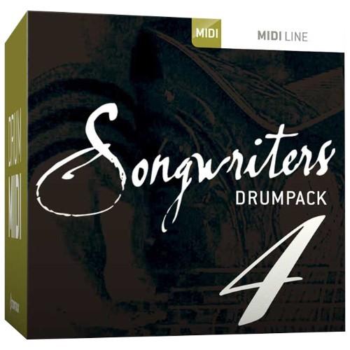 Drum MIDI Songwriters Drumpack 4