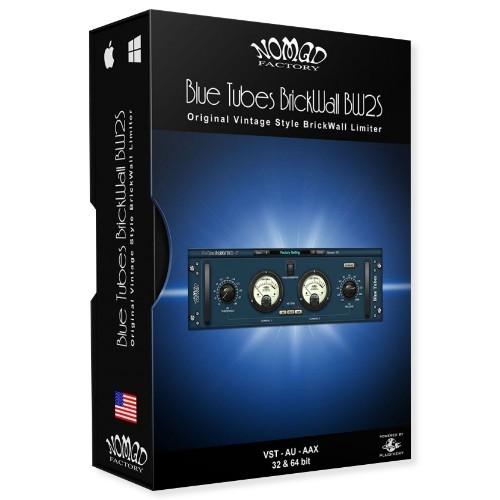 Blue Tubes BrickWall BW2S
