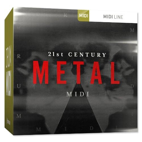Drum MIDI 21st Century Metal