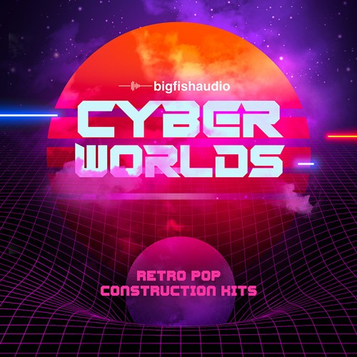 Cyberworlds: Retro Pop Construction Kits