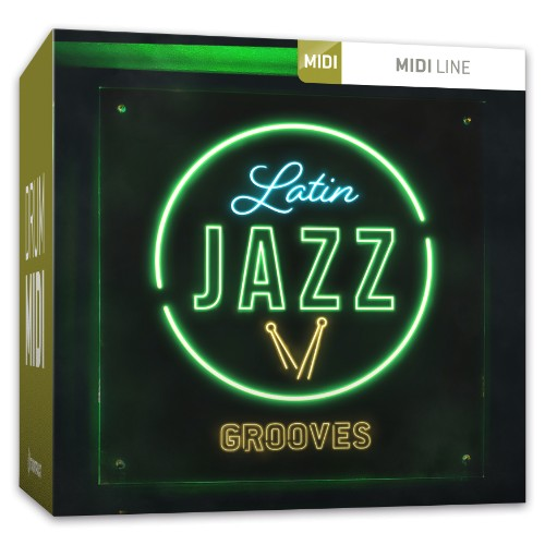 Drum MIDI Latin Jazz