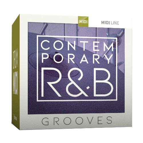 Drum MIDI Contemporary R&B Grooves